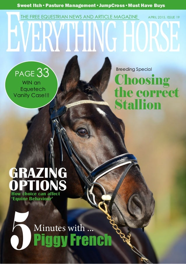 Trade Stands Hoys 2015 : Everything horse april 2015 complete digital.1