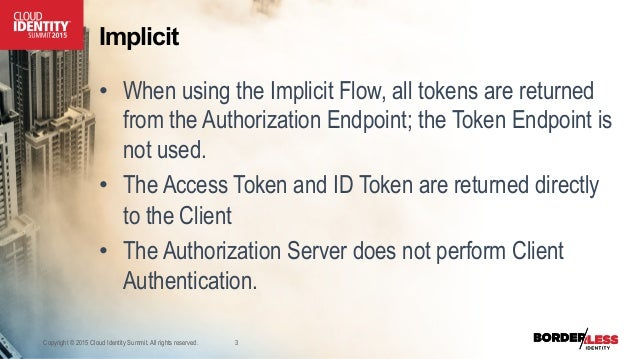 CIS 2015 OpenID Connect and Mobile Applications - David Chase