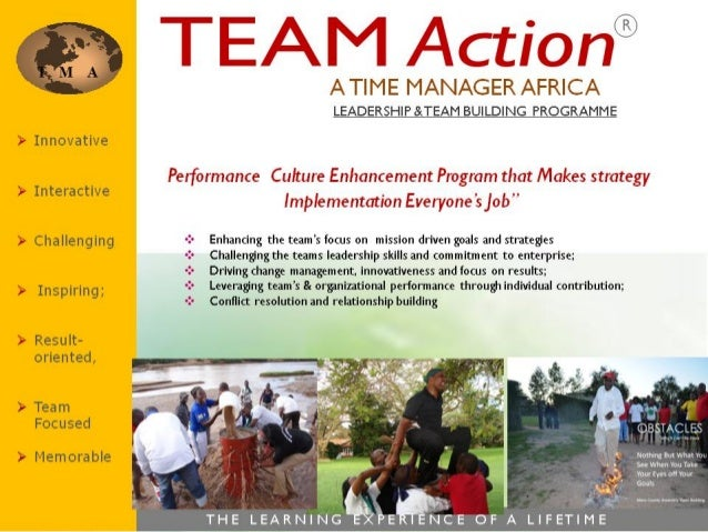 E x e c u t i v e D e v e l o p m e n t P r o g r a m m e Making Strategy Implementation Everyone's Job AN EXECUTIVE DEVEL...