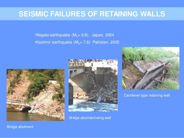 EPS 2011 - 05  Seismic Isolation of Earth Retaining Walls