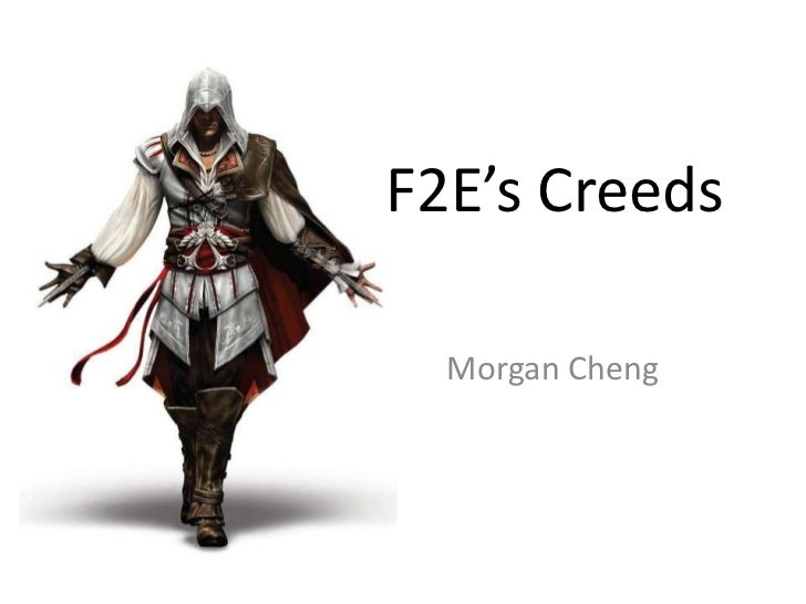F2E's Creeds<br />Morgan Cheng<br />