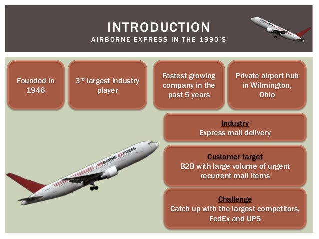 express mail and airborne express Express delivery company airborne express, seattle, announced this week that it will enter into an agreement with the us postal service enabling ae to offer their customers a business-to-residential shipping service called airborne@home.