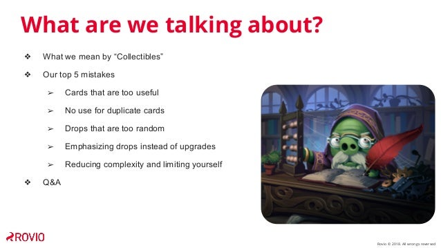 Top 5 Mistakes Designing Your Card Collection Slide 3