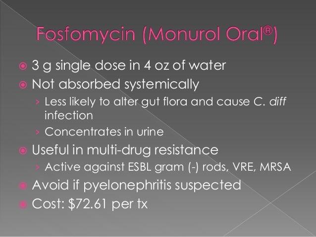 Vantin Dose For Pyelonephritis