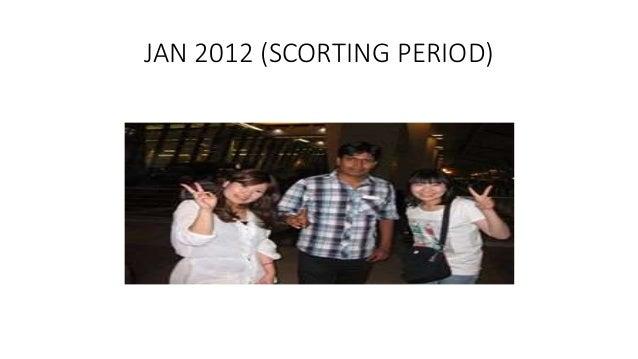 JAN 2012 (SCORTING PERIOD)