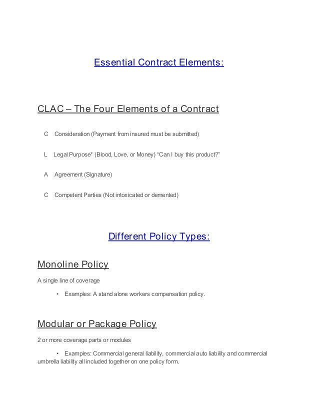 Revised abcs and 123s part 1 as of 618 11 essential contract elements clac platinumwayz