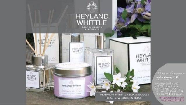 HEYLAND & WHITTLE - Handmade in England - ist bekannt für wunderschöne Geschenkideen in exklusiven Geschenkverpackungen: N...