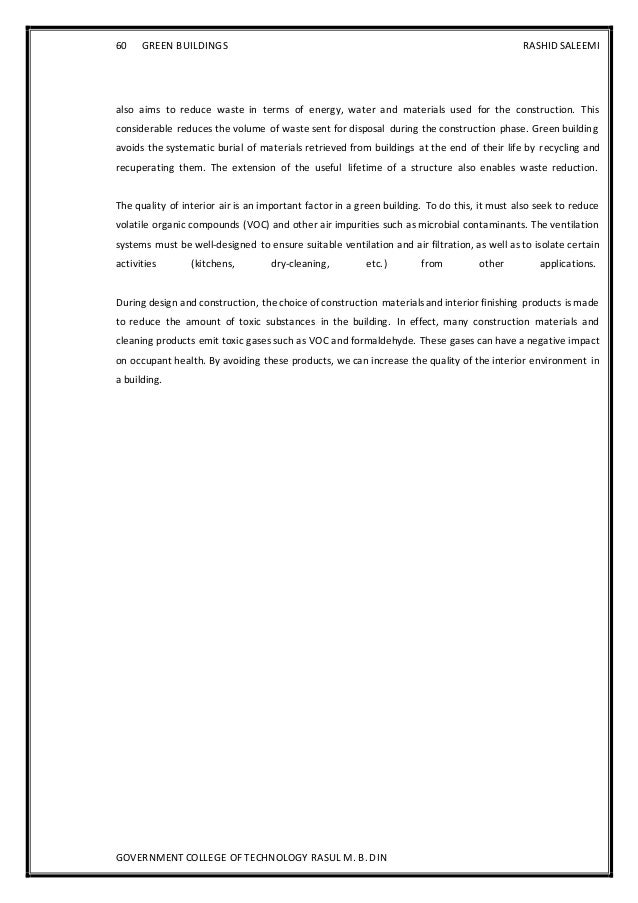 Sustainable construction dissertations
