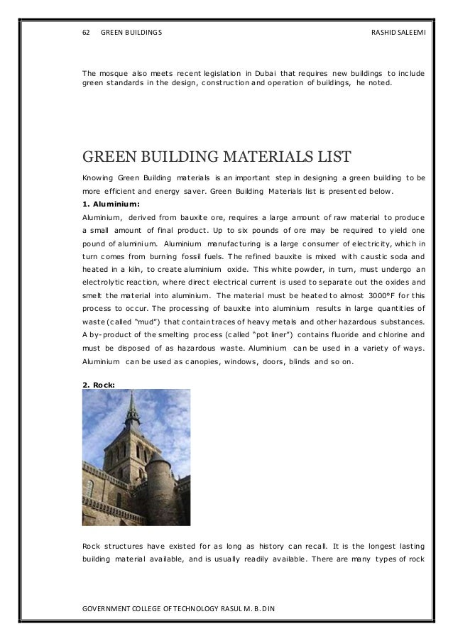 green building dissertation This thesis is intended to fill this gap in the literature and contribute to the field of  knowledge regarding green building construction in turkey.