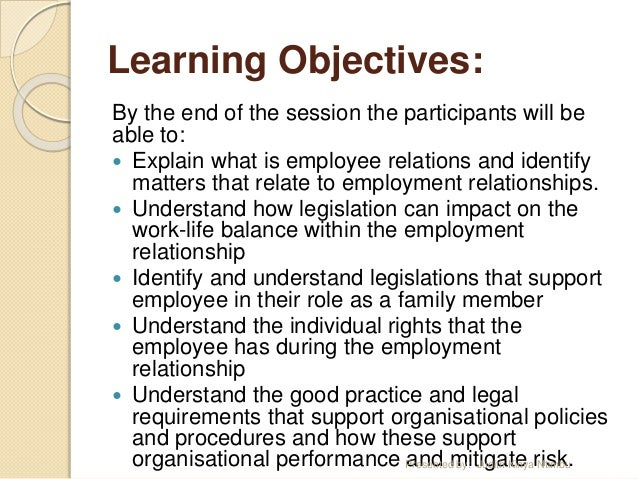 Employment and Labor Relations, MA