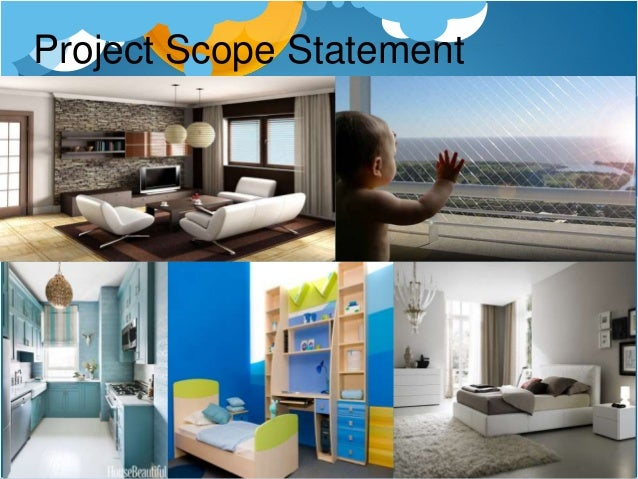 Project scope statement building house