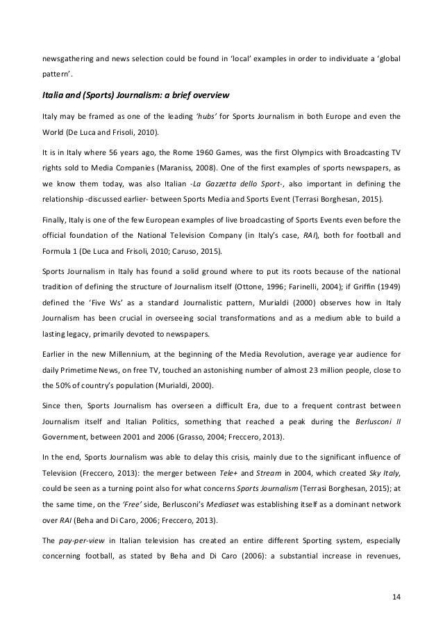 order journalism dissertation conclusion