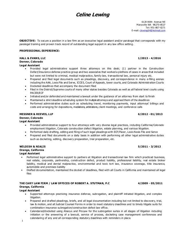 Insurance Resume Objective