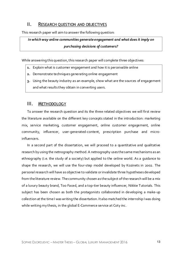 purchasing management thesis Thesis for the degree of master of science in marketing and international  business supervisor:  25 the cdp-model and its impact on purchasing  managers.
