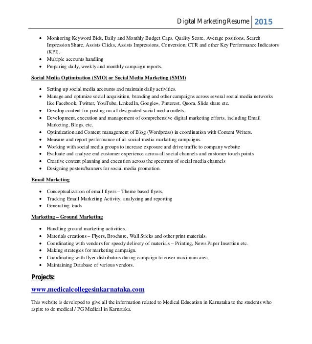 narendra resume new