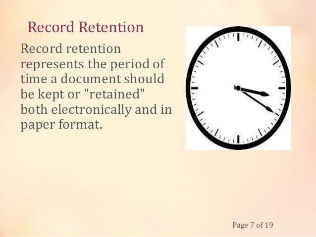 the importance of record management The importance of document security and records management although often overlooked, records management plays a vital role in running a successful business.