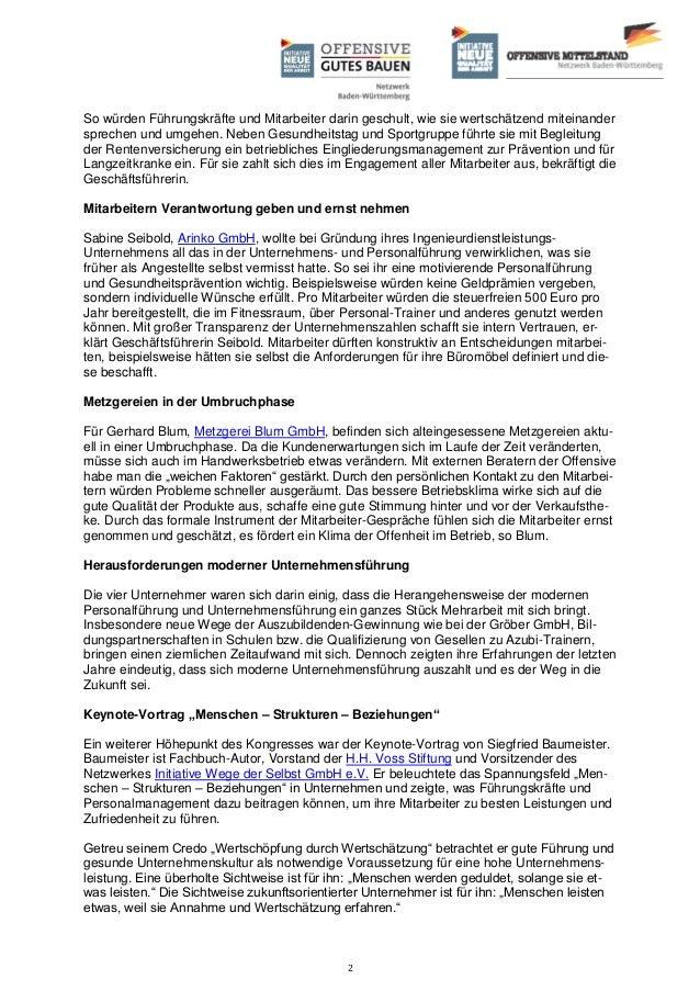 Fachkräftesicherung im Handwerk funktioniert über moderne Unternehmensführung Slide 2