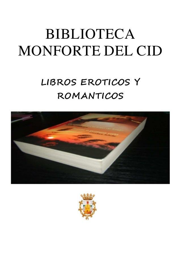 Libros eróticos románticos