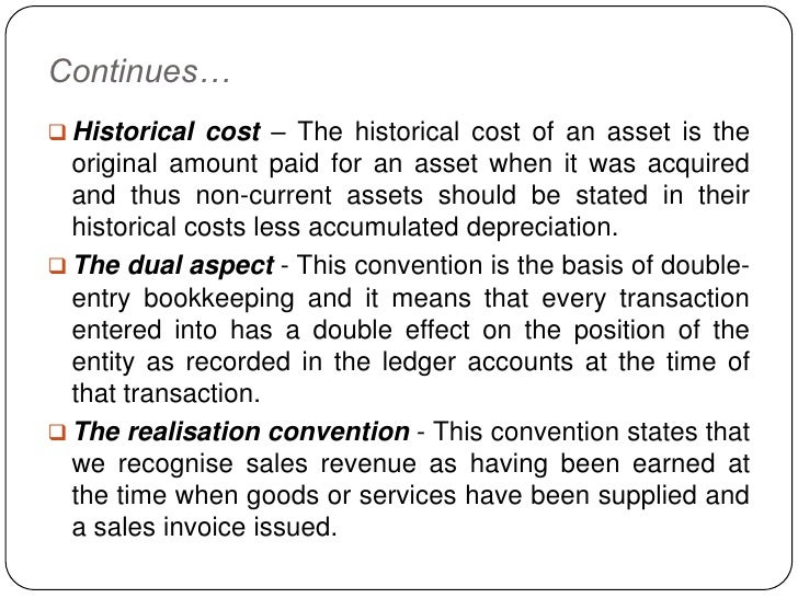 Advantages disadvantages historical cost accounting alternatives