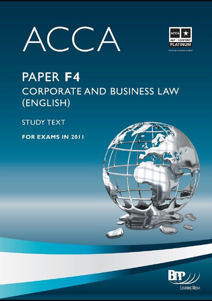 Basic principles of company law