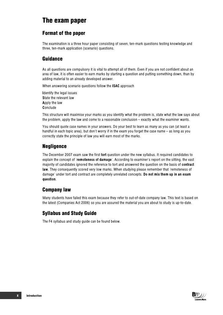 Bpp fm study manual