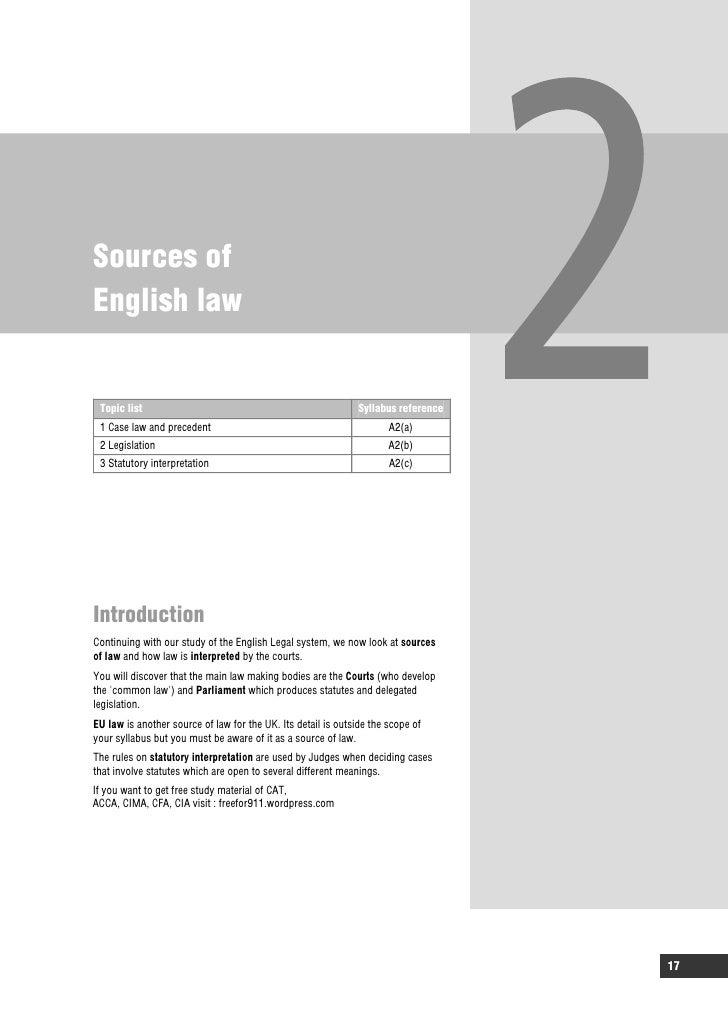 acca f4 study text pdf