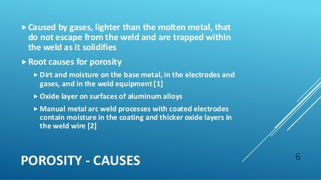 Weld Defects And Material Properties Presentation