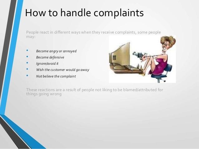 Ppt complaint handling powerpoint presentation id:569473.