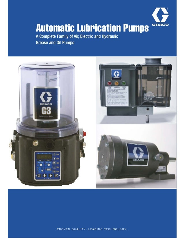 GracoAutomaticLubePumps