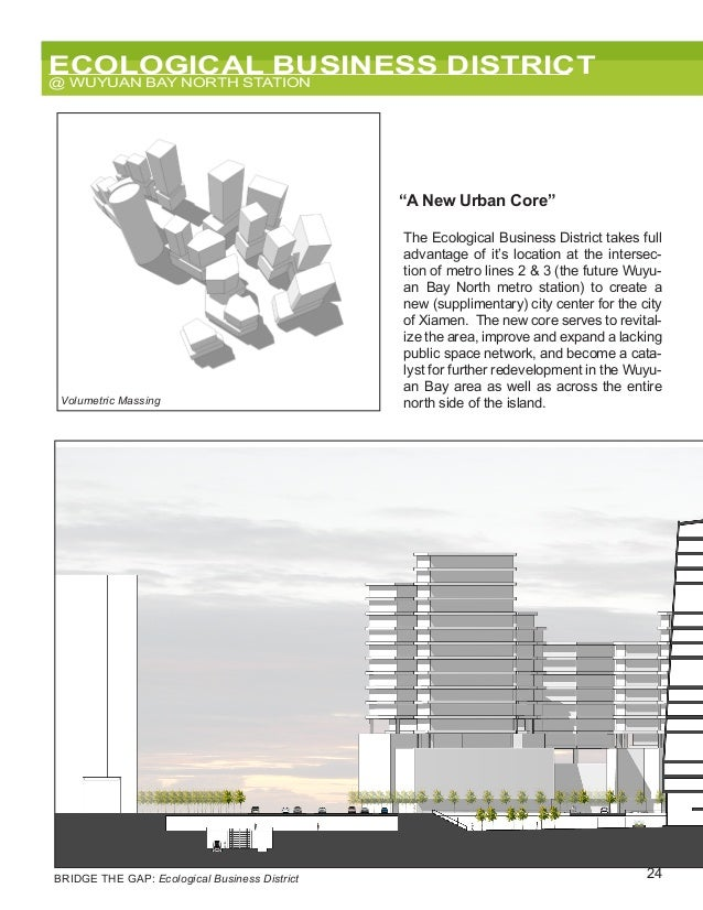 """24 ECOLOGICAL BUSINESS DISTRICT @ WUYUAN BAY NORTH STATION Trunk Road Ecological AvenueExisting High-Rise Residential """"A N..."""