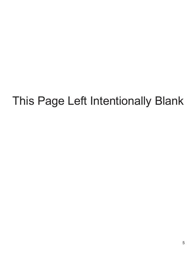 5 This Page Left Intentionally Blank