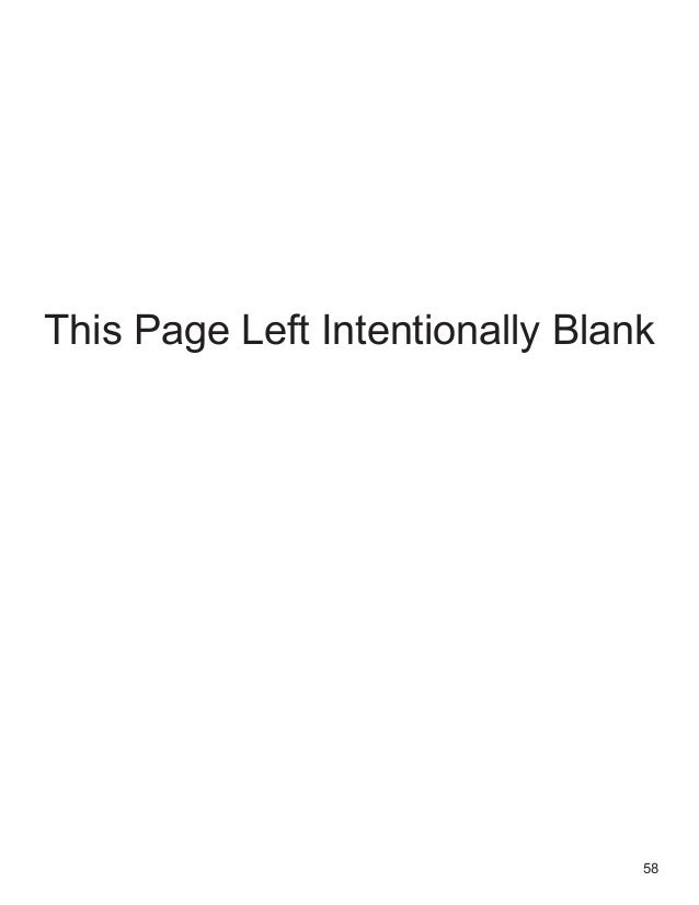 58 This Page Left Intentionally Blank