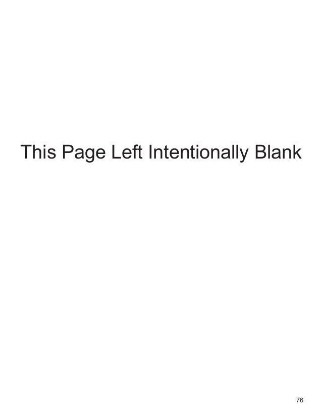 76 This Page Left Intentionally Blank
