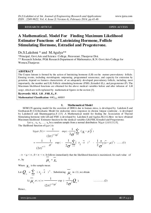 Dr,S.Lakshmi et al Int. Journal of Engineering Research and Applications ISSN : 2248-9622, Vol. 4, Issue 2( Version 4), Fe...