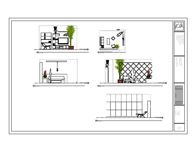 Front Elevation Of Living Room : Living room elevations