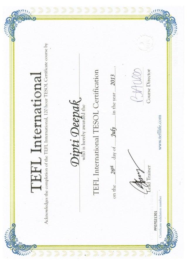 Certification - Dipti Deepak