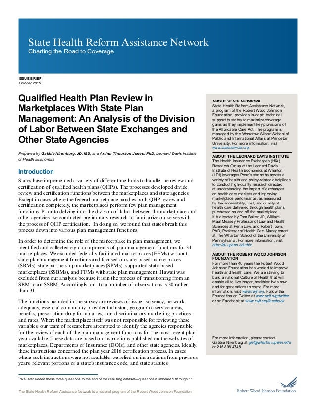 state network ldi plan management division of labor october 2015 1