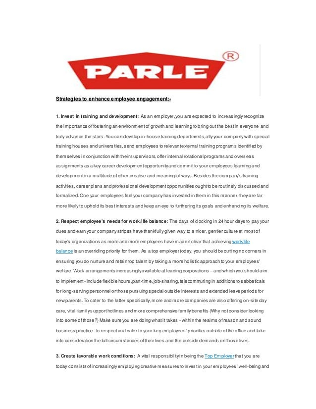 training and development at parle Recruitment and selection process of hindustan coca-cola  there is definitely need of vendor development  ownership of parle soft drinks.