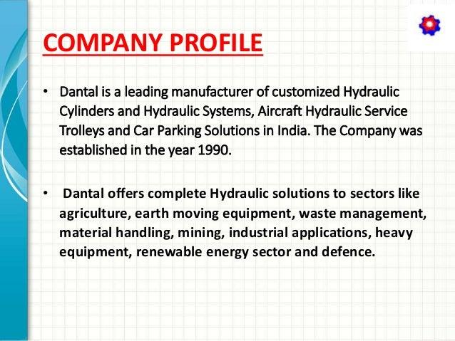 Dantal Hydraulics Pvt Ltd