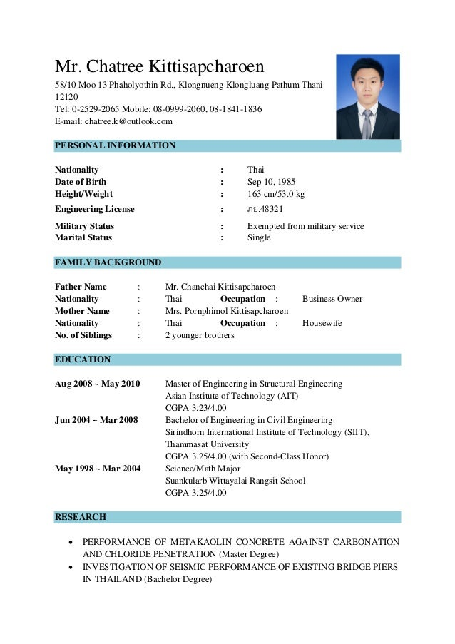 Mr. Chatree Kittisapcharoen 58/10 Moo 13 Phaholyothin Rd., Klongnueng Klongluang Pathum Thani 12120 Tel: 0-2529-2065 Mobil...
