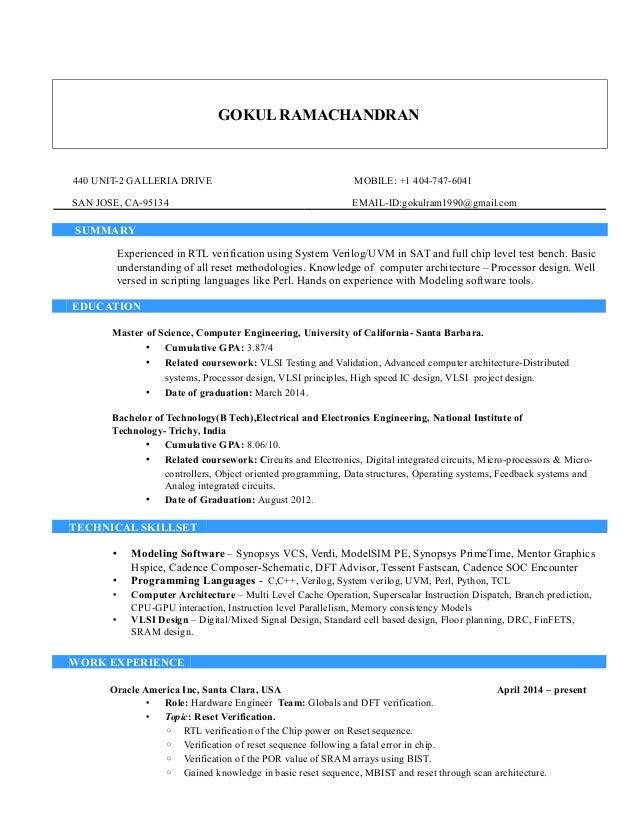 Gokul Ramachandran-Resume