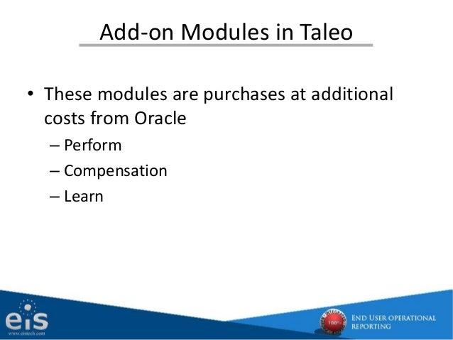 Oracle Taleo Cloud Service Price List