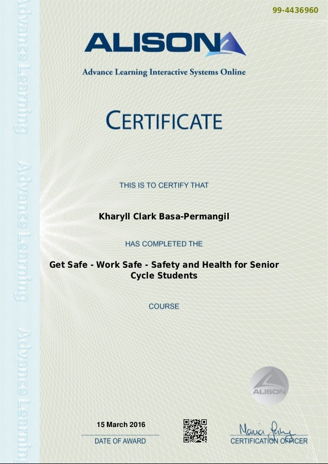 Back Care And Manual Handling Theory Certificate