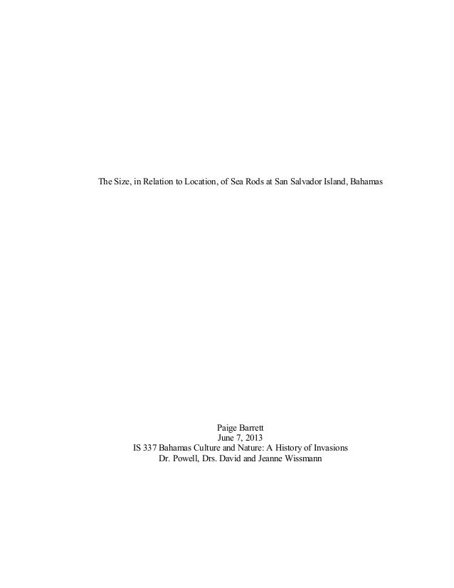 Police brutality term paper