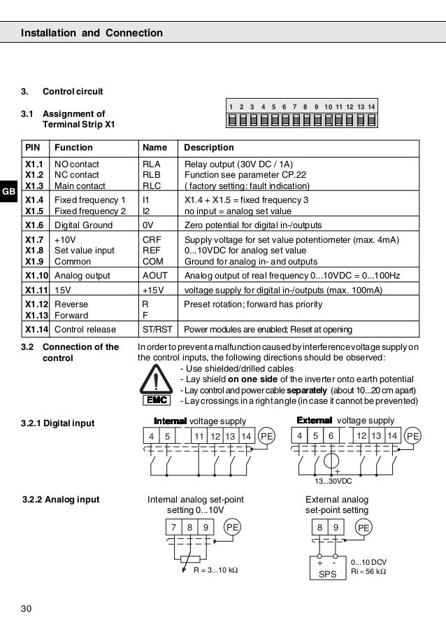 F4 s instruction manual Keb Variable Frequency Drive Wiring Diagram on