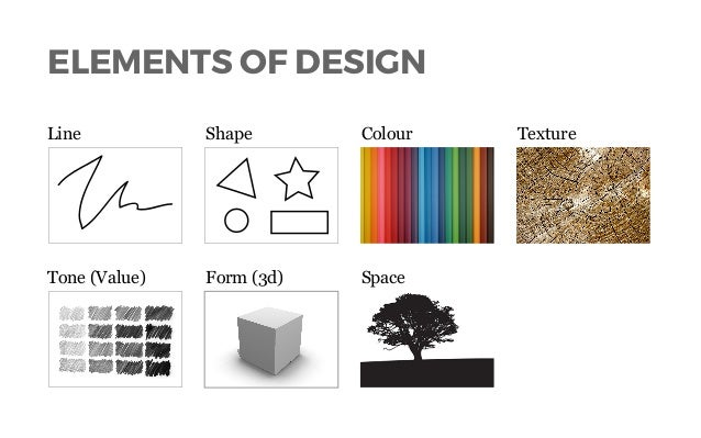 Elements Of Design Shape And Form : Lines shapes in visual composition