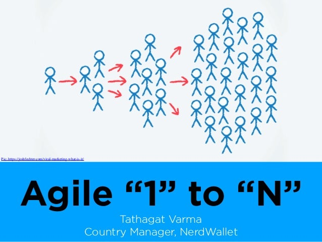 "Agile ""1"" to ""N""Tathagat Varma Country Manager, NerdWallet Pic: https://joshfechter.com/viral-marketing-what-is-it/"