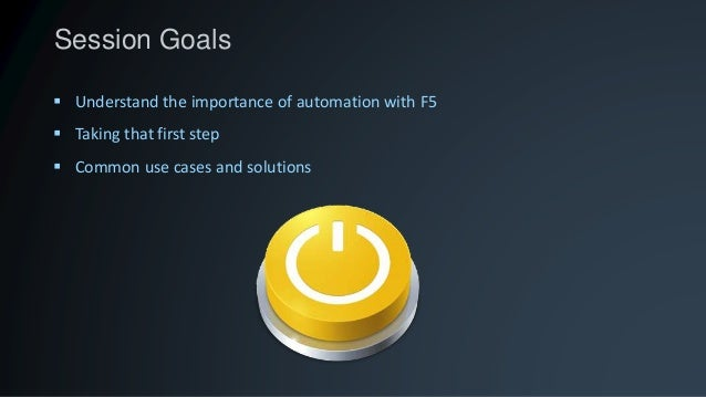 F5 Automation - The Journey
