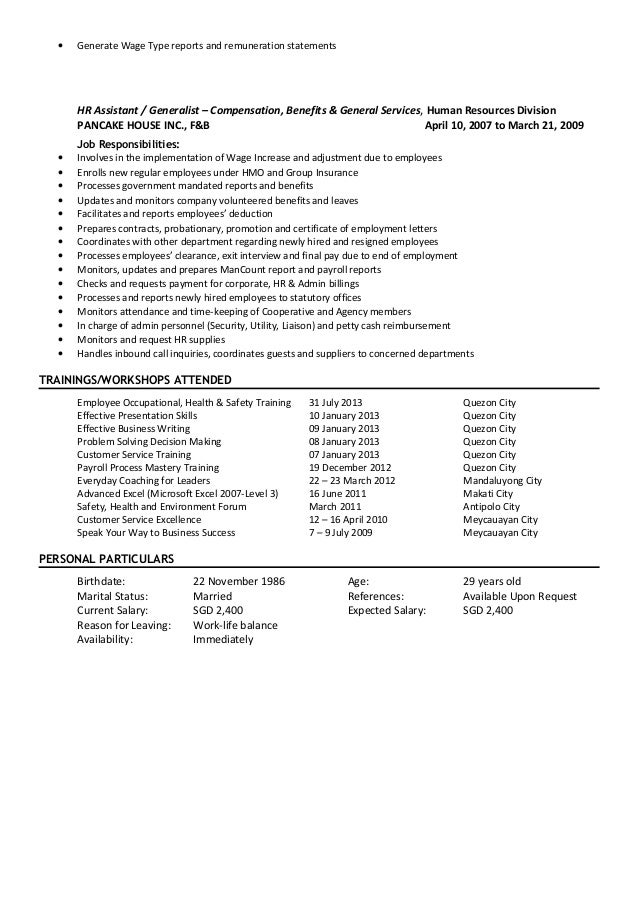 maria laura macaranas resume
