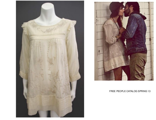 FREE PEOPLE CATALOG SPRING 13